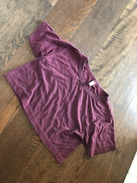 american apparel crop tee one size fits all Vancouver, V6B 2R5
