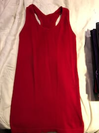 women's red sleeveless dress Rockville, 20853