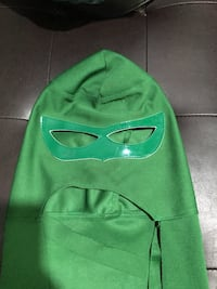 Green lantern mask and cape in one Toronto, M1V 1A9