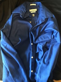 Men's Dress Shirt (royal blue) ERIE
