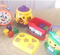 Toddler's assorted Fisher Price toys Arlington, 22201