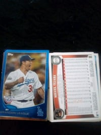 two baseball player trading cards Fairfield, 45014