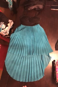 High low size s teal dress Abbotsford, V2T 3T5