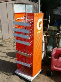 orange and white G Series rack Tucson, 85706