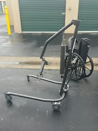 black and grey patient lift and wheelchair Stockton, 95207