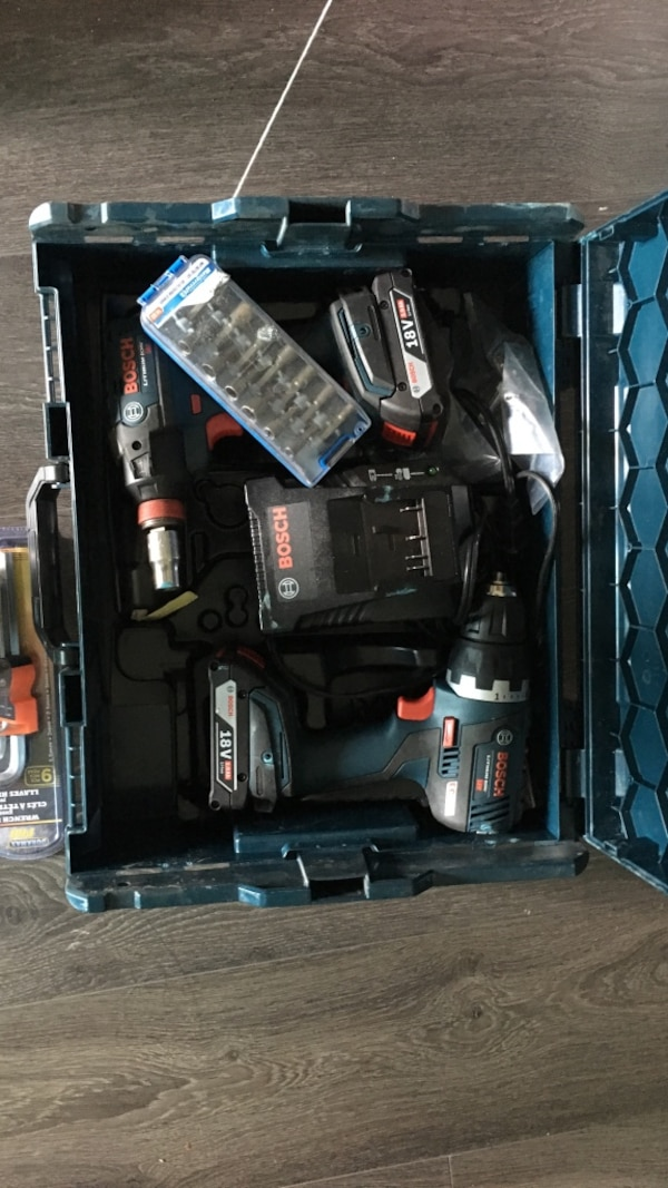 Bosch impact and drill cordless power drill