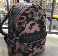 AUTHENTIC MCM Stark Backpack in Munich Lion Camo Frederick, 21701