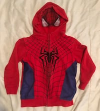Spider-Man Zip-up Hooded Sweatshirt Modesto, 95355
