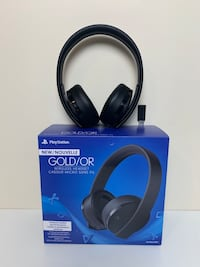 PlayStation 4 Over-Ear Gold Wireless Gaming Headset Суррей, V3R 4B3