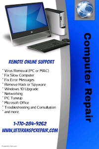 Computer Repair Tech Support Lawrenceville, 30043