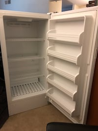 white single-door refrigerator Reston, 20191
