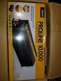 Wagan proline 10,000 watt inverter  Oxnard, 93036