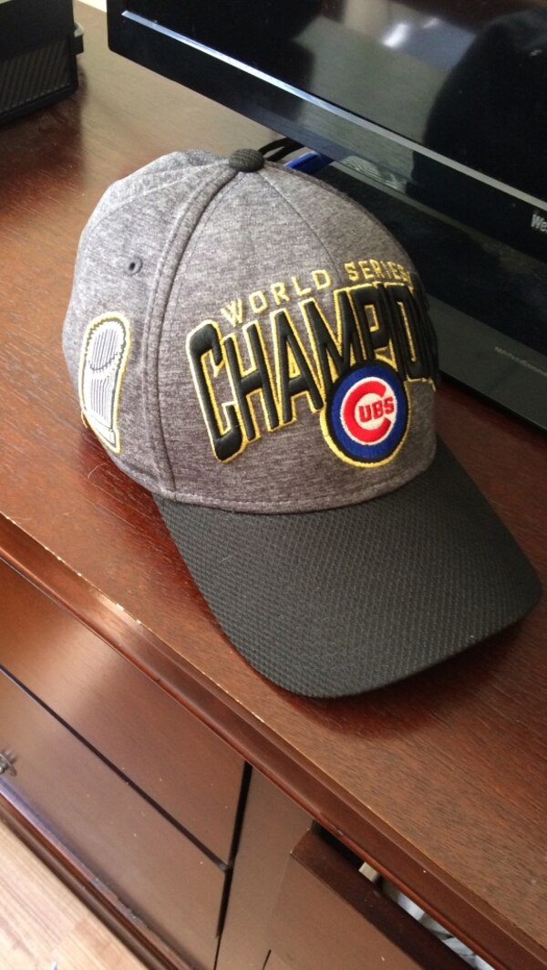 7366dde2def29 Used Grey World Series champion cap for sale in Glendale Heights - letgo