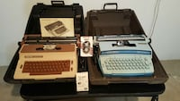 Two Typewriters with cases Clearwater