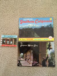 Vintage Souvenir Guide To Southern California+the California mission story+MORE SANLUISOBISPO