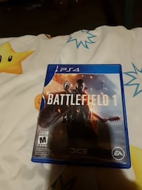 Battlefield 1 PS4 game case Saskatoon, S7L 4V5