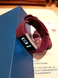 Fitbit charge 2- available in black and plum