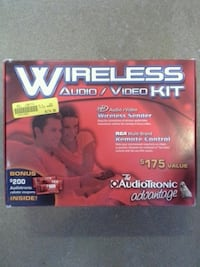 AudioTronic Advantage Wireless Sender Audio Video