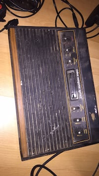 Vintage Atari console, untested, as is , 10312