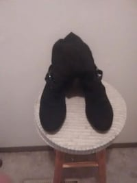 black and white slip on shoes Omaha