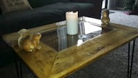 Handcrafted coffee table $150/obo/negotiable