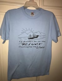 I'd rather be on river destroying my liver t shirt Bullhead City, 86442
