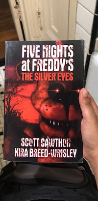 Five Nights at Freddy's The Silver Eyes Paper Copy Washington, 20032