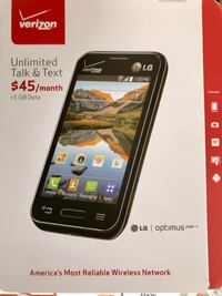 Brand new Verizon Prepaid LG Android Laurel, 20707