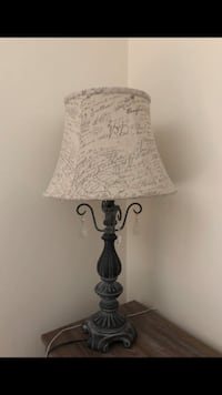 Black and white table lamp Gaithersburg, 20878