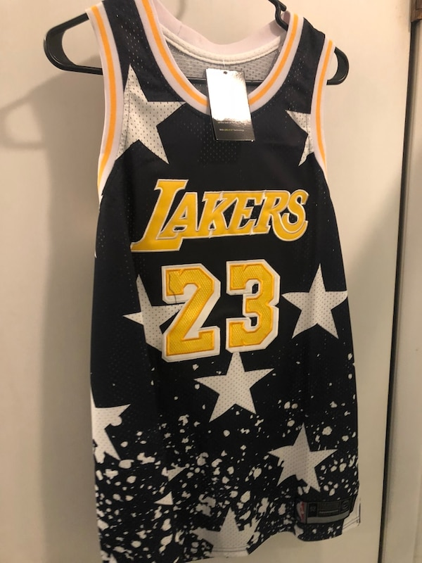 7861c0d3f990 Used Lebron James Nike nba all star Lakers basketball jersey XL Nwt for sale  in Cresskill - letgo