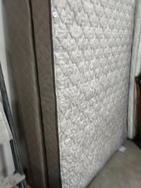 gray and white bed mattress with boxspring Bethany, 73008