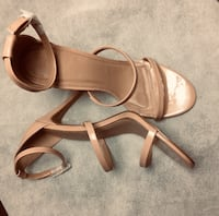 Nude sandals Charlotte Russe Willow Grove, 19090