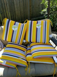 Brand new outdoor dining chair cushions x6 Spruce Grove, T7X 4R5