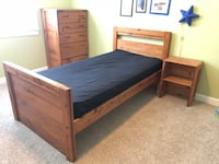 This and Up brand Solid Wood Bedroom Set Ashburn, 20148