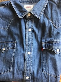 New Men's Levi's western button up