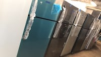 Top and bottom refrigerator 30in with 6 months warranty