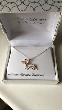 Diamond necklace! Real diamonds - never been worn- new - still in the box Henderson, 89012