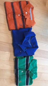 Toddler boy golf shirts 2T 3 for $15, from Tommy Hilfiger and gap Niagara Falls, L2J 4K7