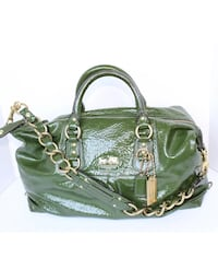 Coach limited edition patent leather purse