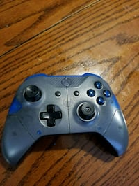 blue and black Xbox One controller Tacoma