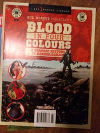 Blood in four Colours book 547 mi
