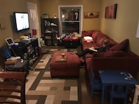Sectional sofa (child not included)