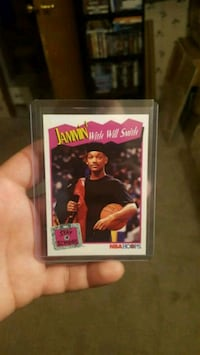 1991 NBA hoops will Smith card .. Jessup, 20794