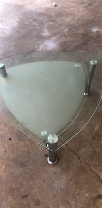 glass table and revolving table underneath Lake Park, 33403