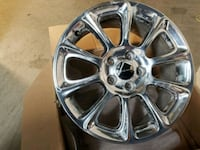 chrome multi-spoke car wheel Gaithersburg, 20886