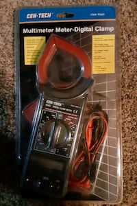Multimeter digital clamp