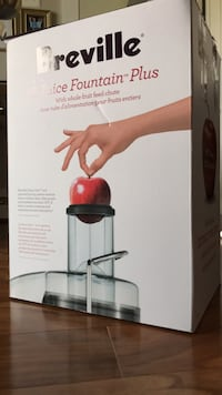 Breville Juice Fountain (used in box)