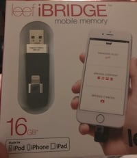 Leef ibridge mobile memory iPhone 16gb  Stockholm, 124 58