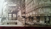 15×15 Canvas Mounted Paris Photos