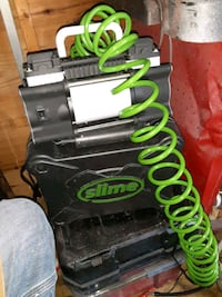 SLIME AIR COMPRESSOR HOOKS UP TO YOUR CAR BATTERY